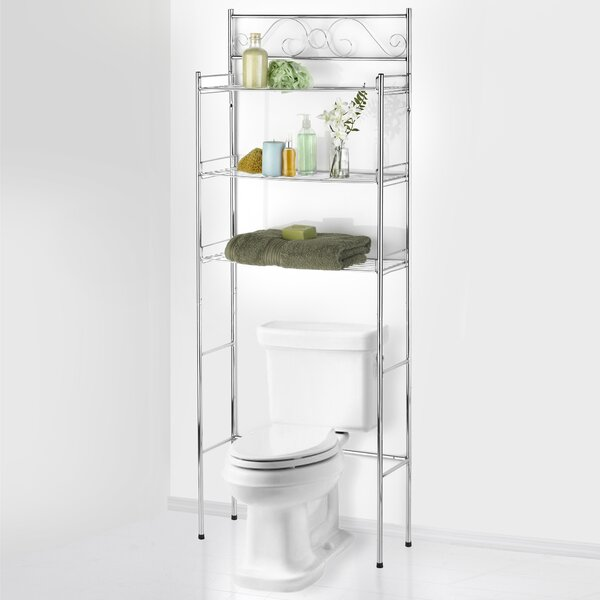 Hightower Scroll 24.75 W x 65.5 H Over The Toilet Storage by Winston Porter