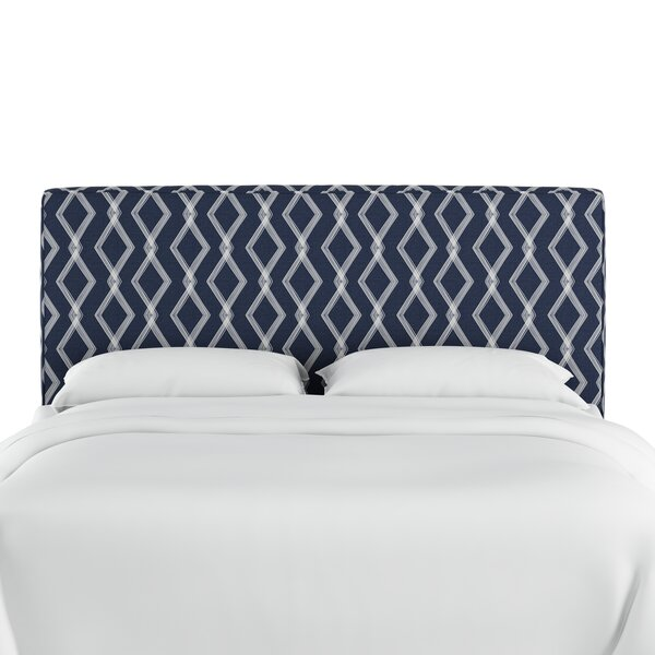 Edford Upholstered Panel Headboard by Wrought Studio