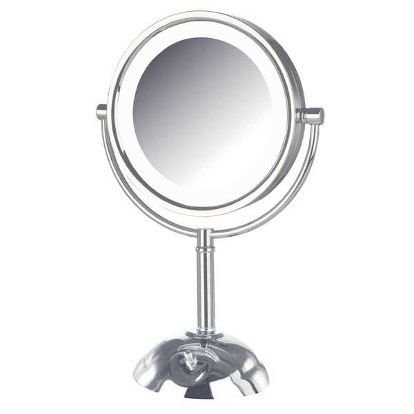Dual Sided Lighted LED Vanity Mirror by Symple Stuff
