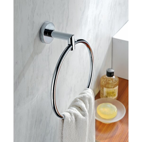 Caster 2 Towel Ring by ANZZI
