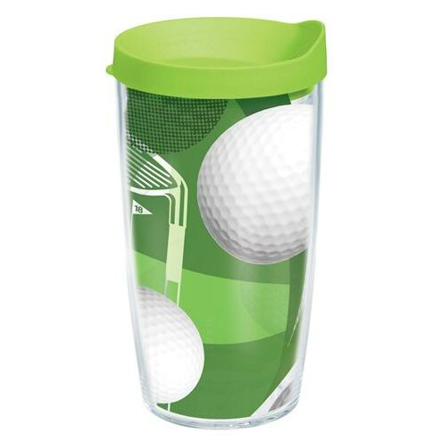 Game On Golf Balls Plastic Travel Tumbler by Tervis Tumbler