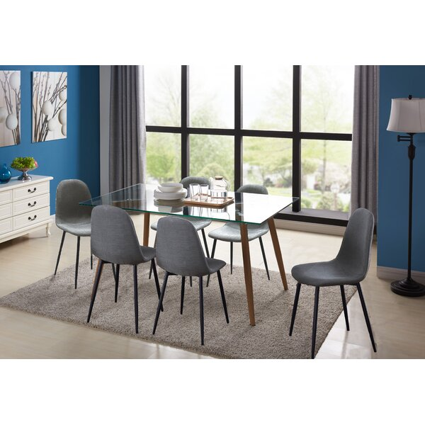 Cavallaro 7 Piece Dining Set by George Oliver