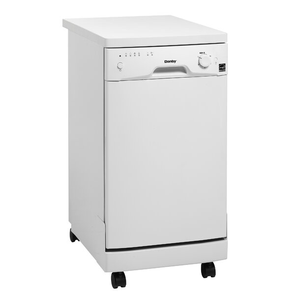 18 55 dBA Portable Dishwasher by Danby