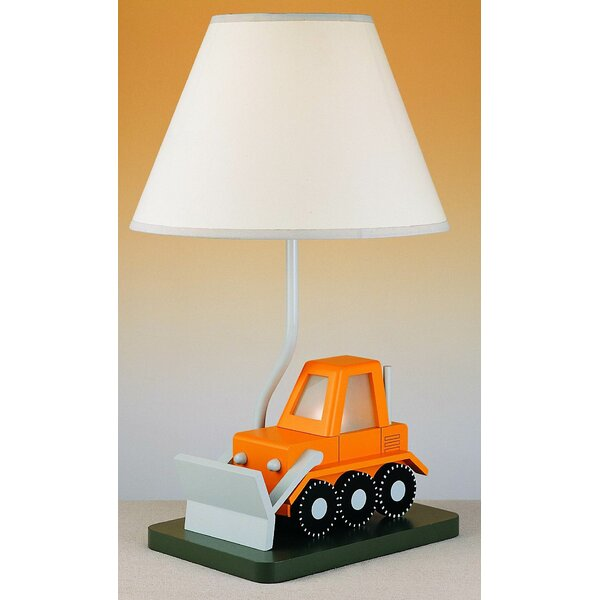 Betsy Bulldozer 20 Table Lamp by Zoomie Kids