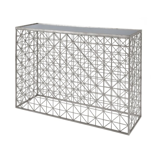 Crosshatch Console Table