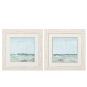 'Cape Cod' 2 Piece Framed Painting Print Set by Propac Images