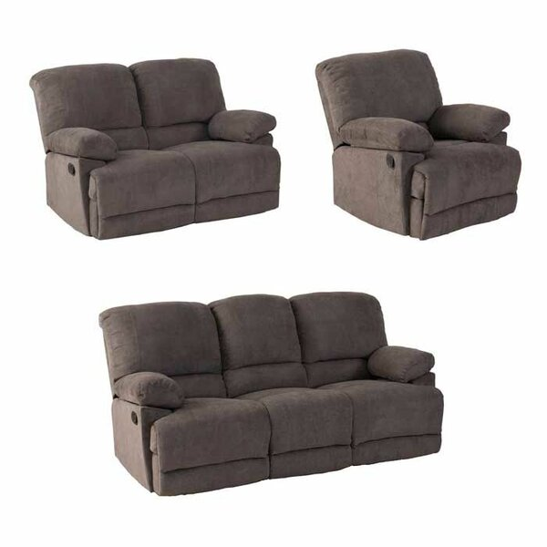 Condron 3 Piece Reclining Living Room Set By Red Barrel Studio