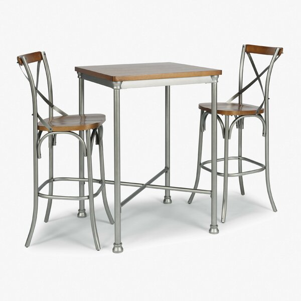 Enno Quartz Top 3 Piece Pub Set by 17 Stories