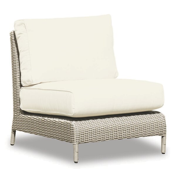 Manhattan Armless Club Chair With Cushions By Sunset West