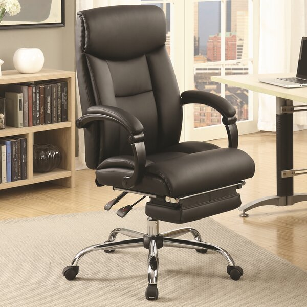 Monimus High-Back Executive Chair by Latitude Run