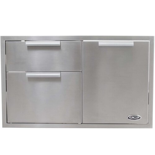 36 Built In Stainless Steel Storage Cabinet by DCS Grills