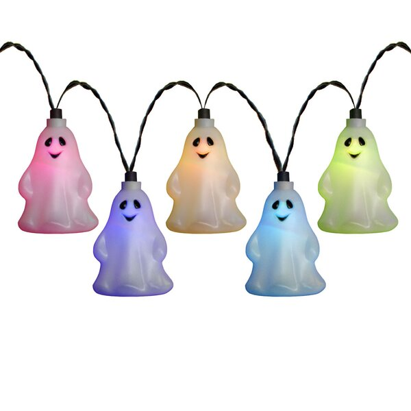 10 Light LED Ghost Set by Penn Distributing