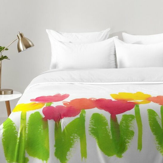 Laura Trevey Bright Tulips Comforter Set