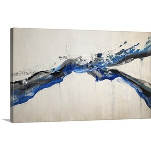 'Splish Splash' by Kari Taylor Painting Print on Canvas by Great Big Canvas