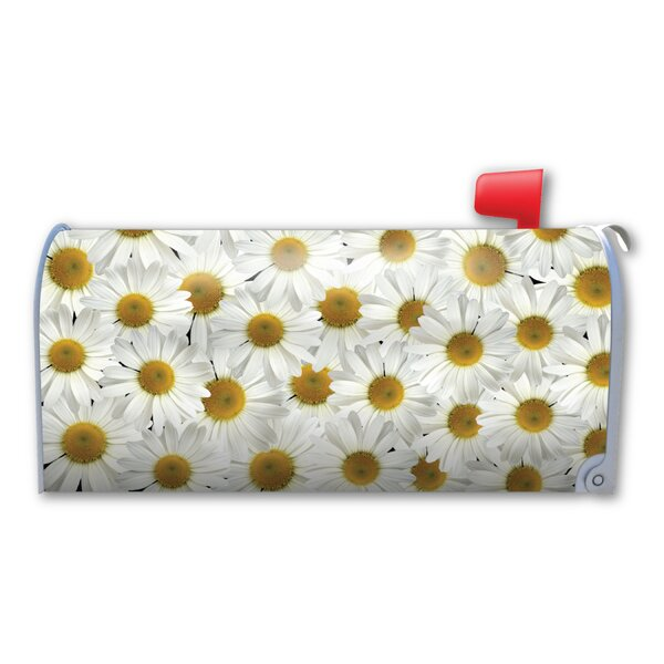 Daisies Magnetic Mailbox Cover by Magnet America