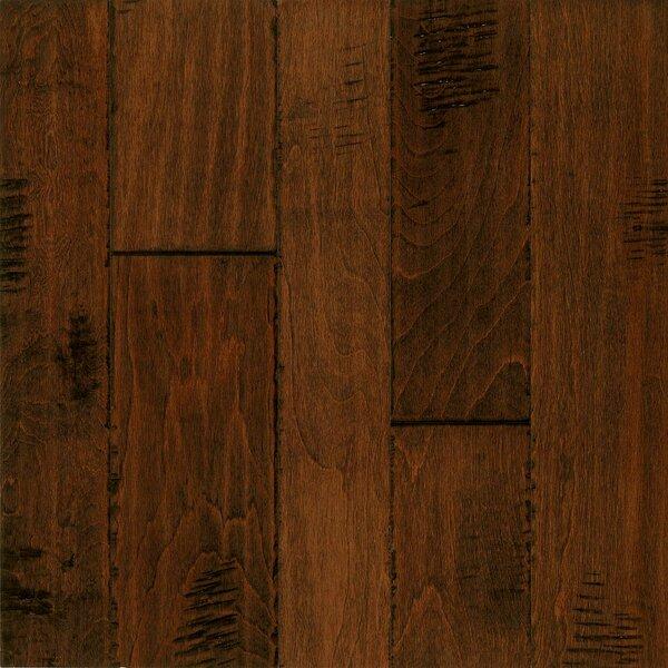 Artesian Random Width Engineered Birch Hardwood Flooring in Chutney Spice by Armstrong Flooring