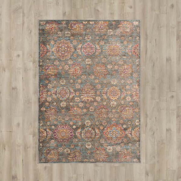 Beausejour Gray Area Rug by Bungalow Rose