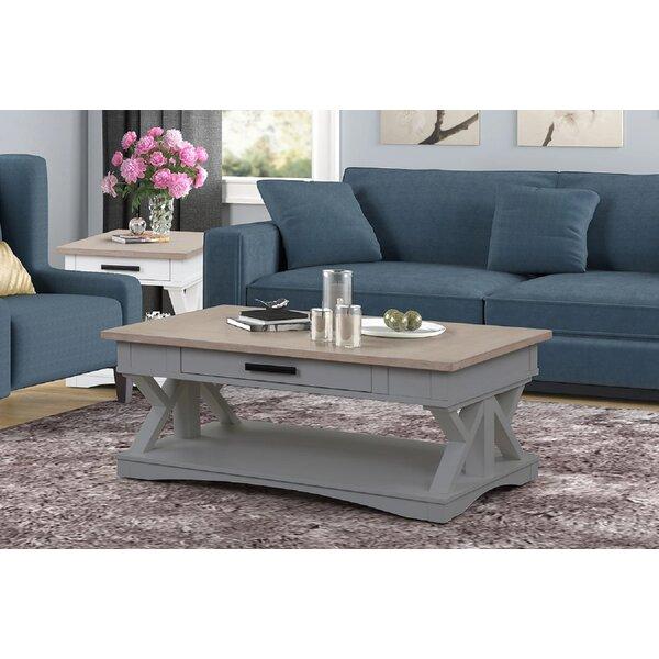 Cabezas Trestle Coffee Table By Gracie Oaks