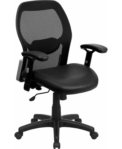 Krout Mid-Back Ergonomic Mesh Executive Chair by Symple Stuff