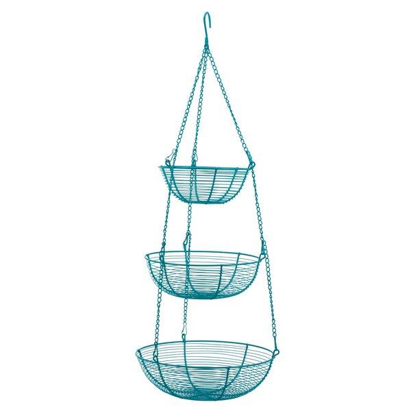 3 Tier Wire Basket Stands | Wayfair