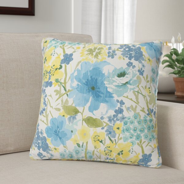 Kerrick Indoor/Outdoor Throw Pillow (Set of 2) by Winston Porter