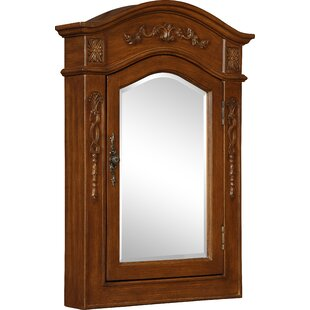 Antiques Antique Architectural Salvage Carved Wood Frame Mirror Bed Armoire Mantel Lustrous Surface