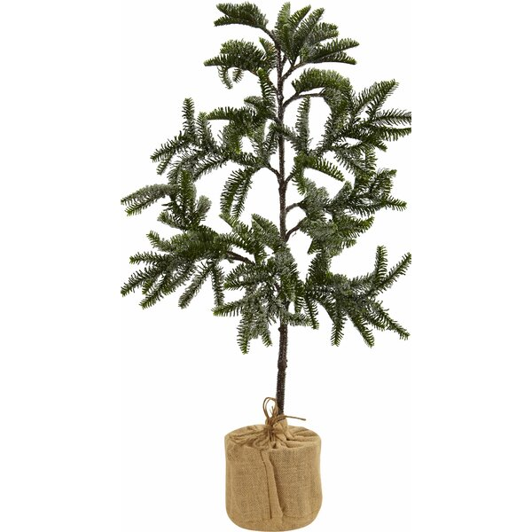 Floor Cedar Tree in Pot by Nearly Natural