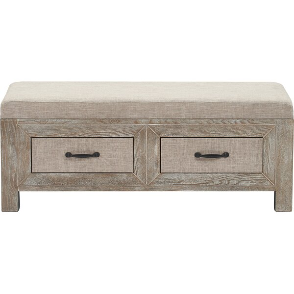 Standish Upholstered Storage Bench by Gracie Oaks