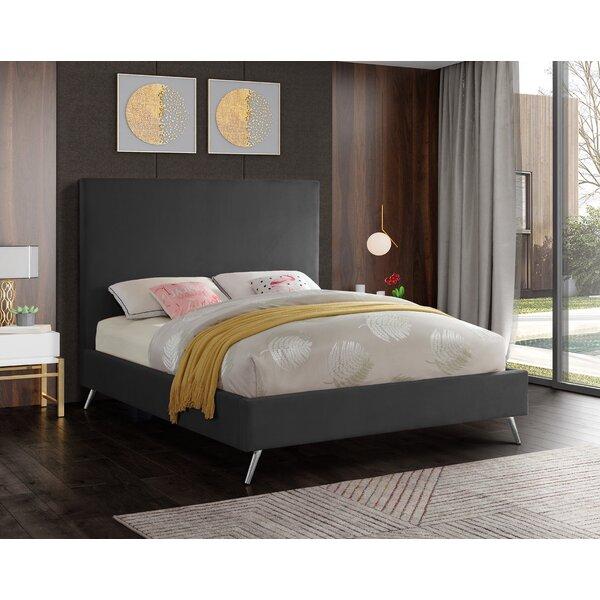 Lavaca Upholstered Platform Bed by Mercer41