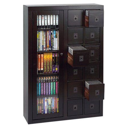 Shillington 12 Drawer Multimedia Cabinet By Three Posts.