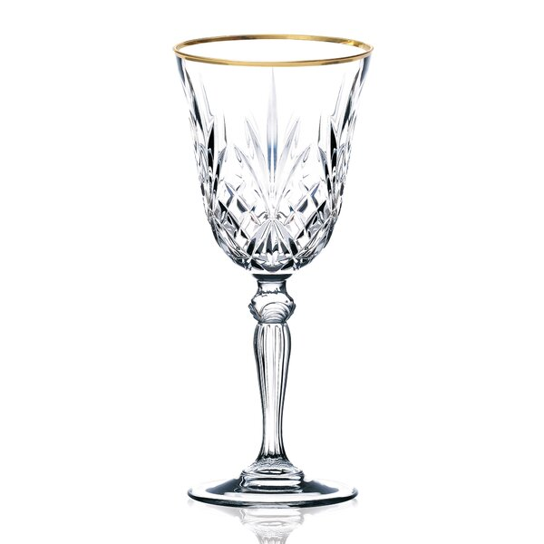 Siena White Wine Glass (Set of 4) by Lorren Home Trends