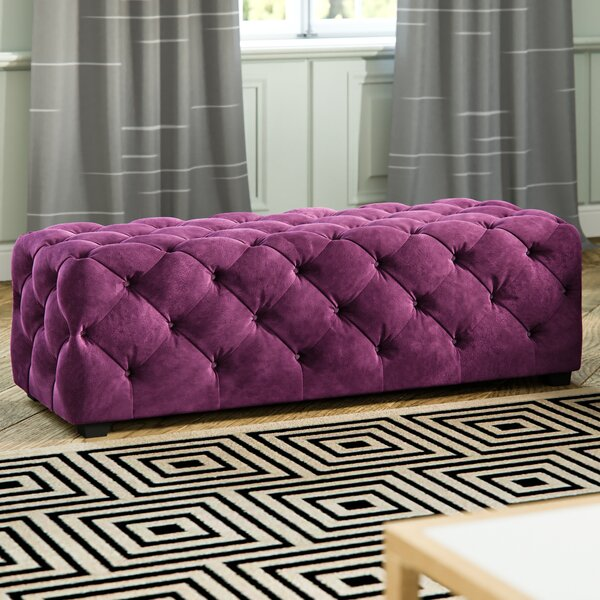 Zebediah Tufted Ottoman By Willa Arlo Interiors
