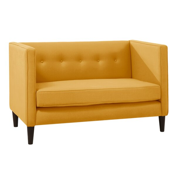 Chesterfield Loveseat by Skyline Furniture