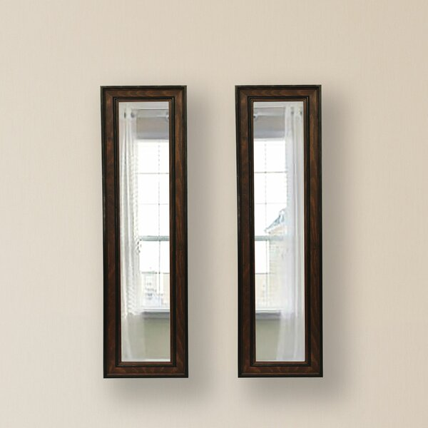2 Piece Kincannon Mirror Set (Set of 2) by Charlton Home