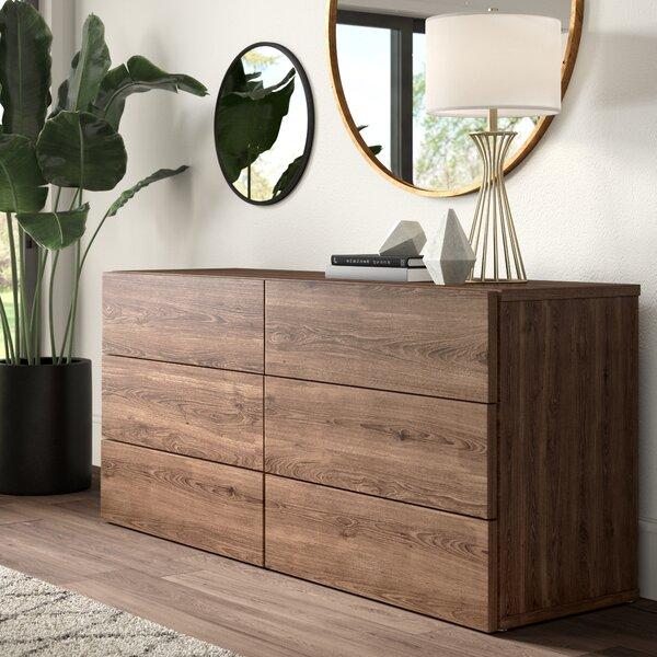Karr 6 Drawer Double Dresser by Mercury Row