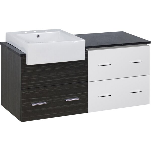 Baulch 49 Single Bathroom Vanity Set by Orren Ellis