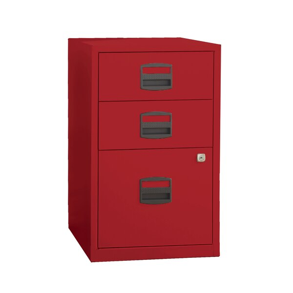 Castaneda 3 Drawer Steel Home or Office Filing Cabinet by Wrought Studio