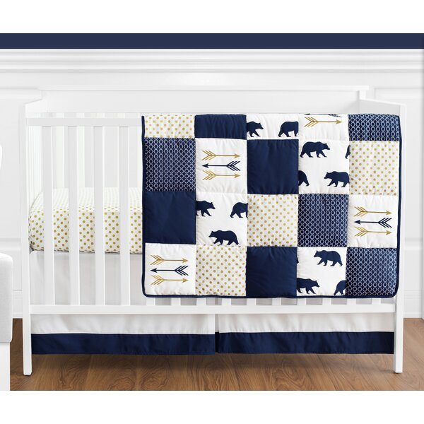 Big Bear 4 Piece Crib Bedding Set by Sweet Jojo Designs