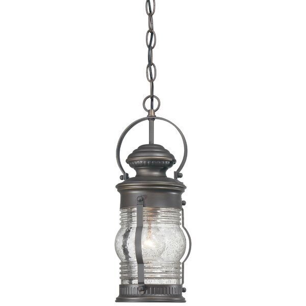 Laxford 1-Light Outdoor Hanging Lantern by Beachcrest Home