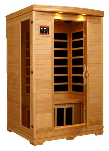 Carbon 2 Person FAR Infrared Sauna by QCA Spas