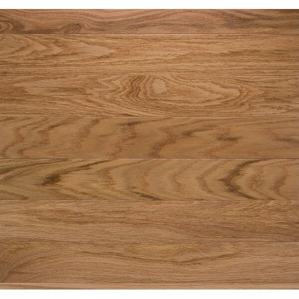 Classic 2-1/4 Solid Oak Hardwood Flooring in Natural by Somerset Floors