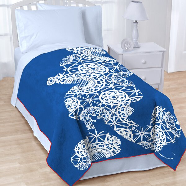 Mickey Americana Blanket by Disney