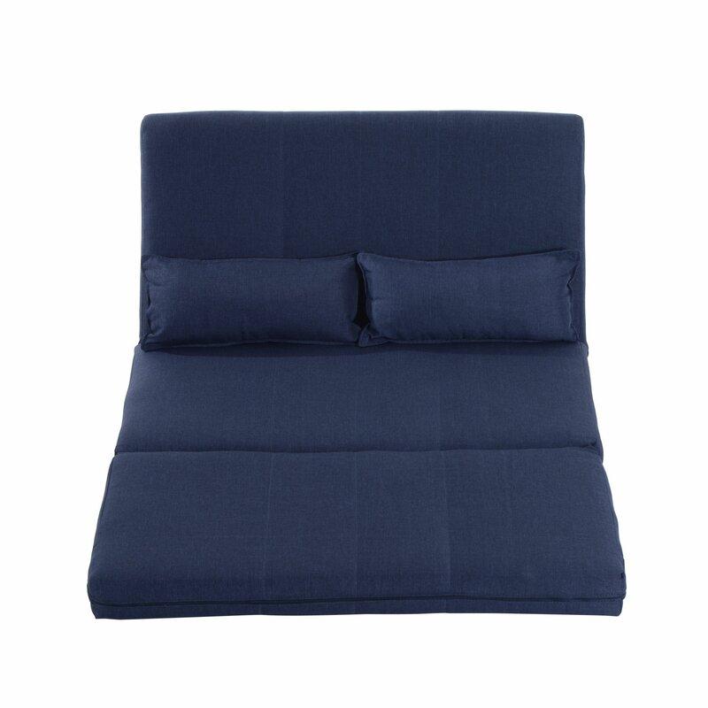 homcom 2 sitzer schlafsofa. Black Bedroom Furniture Sets. Home Design Ideas