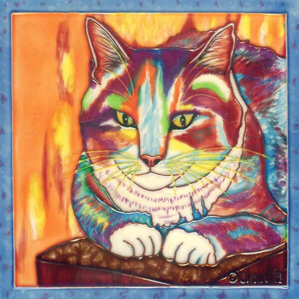 Indi on The Cushion Tile Wall Decor by Continental Art Center