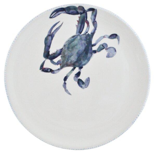 Crab Round Platter by Abbiamo Tutto