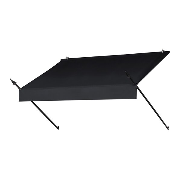 Designer 6 ft. W x 2 ft. D Retractable Window Awning by IDM Worldwide