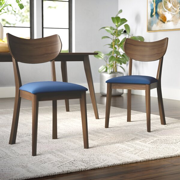 Waterbury Solid Wood Dining Chair (Set Of 2) By George Oliver