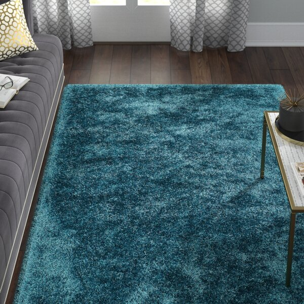 Caine Teal Area Rug by Willa Arlo Interiors