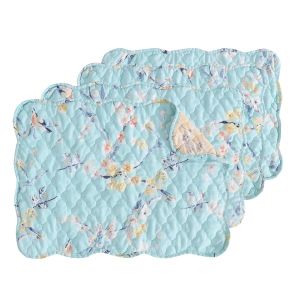 Whigham Placemat Set (Set of 4) by Ophelia & Co.
