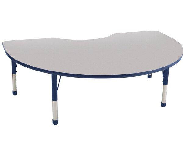 8 Piece Kidney Activity Table Set & 12 Chair Set by ECR4kids